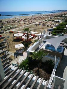 A bird's-eye view of Hotel Madalù