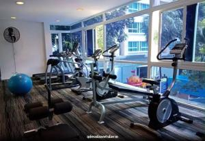 The fitness center and/or fitness facilities at The Royal Place Condominium 3 Phuket