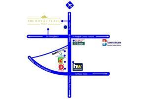 The floor plan of The Royal Place Condominium 3 Phuket