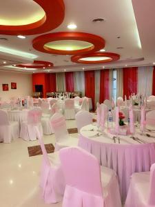 Banquet facilities at the aparthotel