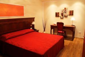 Letto o letti in una camera di Grand Hotel Stella Maris