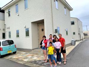 Villa Yuiに滞在中の家族