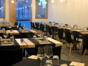 A restaurant or other place to eat at Locanda del Delta
