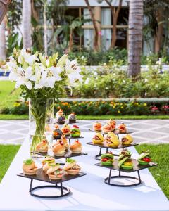Breakfast options available to guests at La Tour Hassan Palace