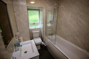 A bathroom at Charing Cross Hotel