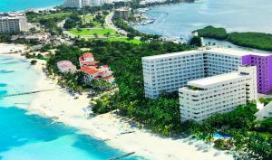Grand Sens Cancun by Oasis - All Inclusive Adults Only a vista de pájaro