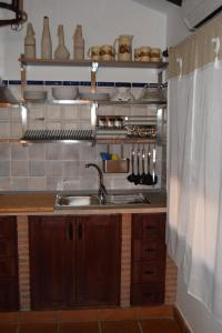 A kitchen or kitchenette at La Posada de Alcudia
