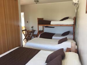 Litera o literas de una habitación en Hotel Blanco Encalada