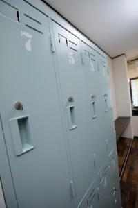 温泉ゲストハウス 湯kori ドミトリーにあるバスルーム