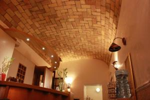 A bathroom at Hotel Campidoglio