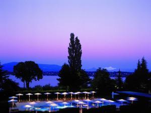 La Réserve Genève Hotel & Spa en invierno