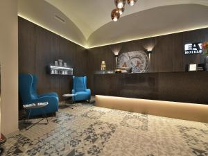 The lobby or reception area at EA Hotel New Town