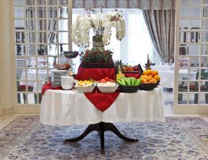 Banquet facilities at the hotel