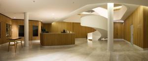El vestíbulo o zona de recepción de Evora Olive Hotel