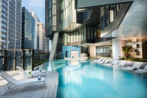 The swimming pool at or near The Westin Brisbane