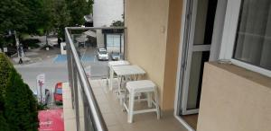 A balcony or terrace at Heat Complex Family Hotel