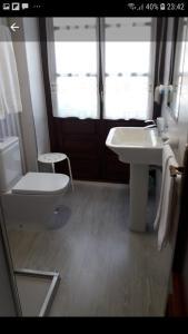 A bathroom at Hotel El Pescador