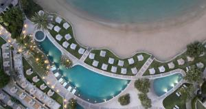 A view of the pool at Elounda Peninsula All Suite Hotel, Six Senses Spa or nearby