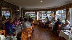 A restaurant or other place to eat at Atholl Villa Guest House