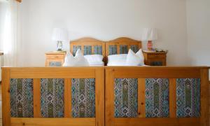 Ein Bett oder Betten in einem Zimmer der Unterkunft Ristorante Napoleone
