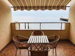 Балкон или терраса в Апартаменты Аделина