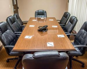 The business area and/or conference room at Sleep Inn & Suites Pineville