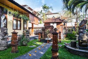 Jardin de l'établissement Pondok Oka Homestay