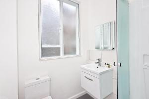 A bathroom at OGS - Studio 5