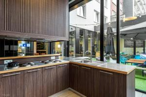 A kitchen or kitchenette at The ASH