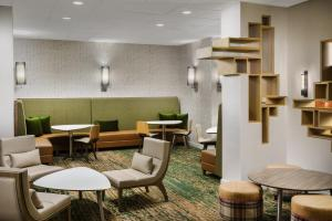 The lounge or bar area at Residence Inn Austin Downtown / Convention Center