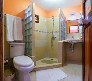 A bathroom at Casa Gran Cana