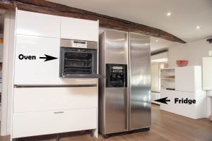 A kitchen or kitchenette at Il Loft sui Tetti