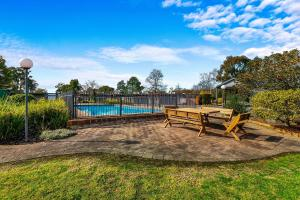 The swimming pool at or near Quality Inn & Suites Traralgon