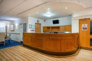 The lobby or reception area at Quality Hotel Dudley