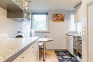 Kuchyň nebo kuchyňský kout v ubytování 6420 City-Privatapartment