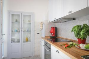 A kitchen or kitchenette at Il Polisano