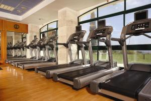 The fitness center and/or fitness facilities at Ye'arim Hotel