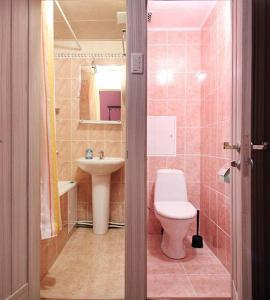 Ванная комната в ApartLux Третьяковская