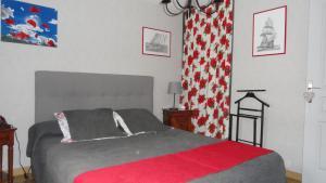 Un ou plusieurs lits dans un hébergement de l'établissement L'Orée des chênes