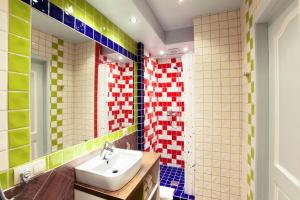 A bathroom at Lvovo Apartments