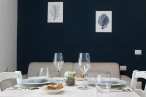 Um restaurante ou outro lugar para comer em AHR Residence Leonis La Maddalena