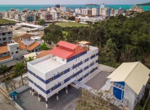 Uma vista aérea de Mar e Mar Florianópolis