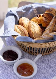 Breakfast options available to guests at La Casita Saigon