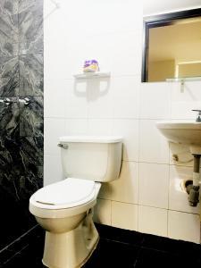 A bathroom at Hotel Casa Paulina
