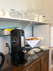 Coffee and tea-making facilities at The Lake House B&B