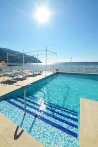 The swimming pool at or close to Hotel Miramare Stabia