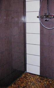 A bathroom at Le Chalet des Neiges