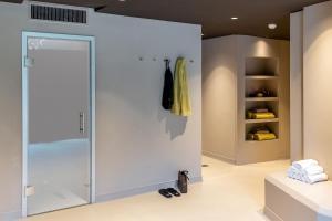 Ein Badezimmer in der Unterkunft See- und Seminarhotel FloraAlpina Vitznau