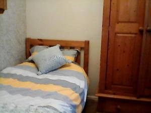 A bed or beds in a room at the brier house