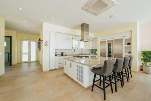 A cozinha ou cozinha compacta de Villa Ocean